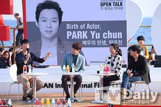 JYJ朴有天出席Open Talk「演員的誕生,朴有天」 _5
