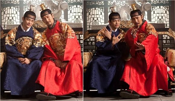 「王的面孔」李政宰-徐仁國截然不同魅力的幕後花絮照公開