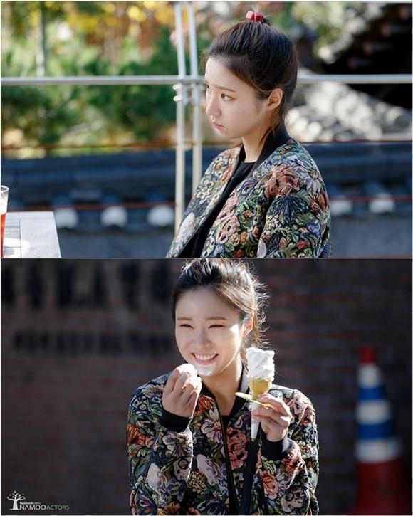 「鋼鐵人」申世炅,天真爛漫的劇照公開 「冰激淩少女?」