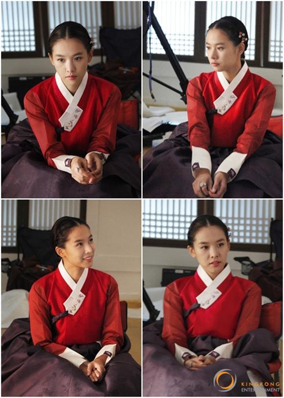 「王的面孔」趙胤熙,身著紅色韓服 一展「可愛的洋娃娃美貌」