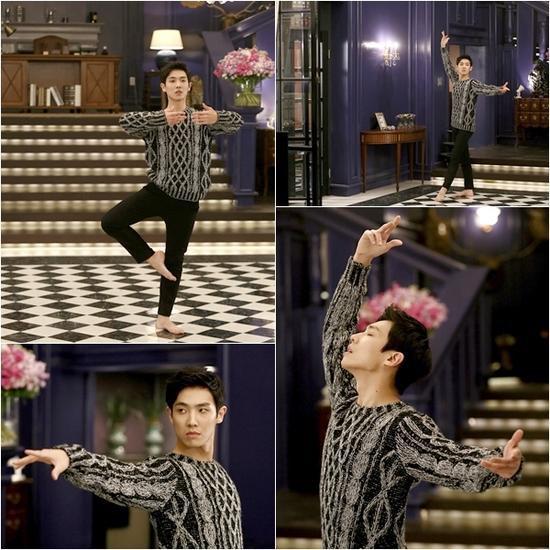 韓劇《白先生》李准繃腳尖陶醉跳芭蕾