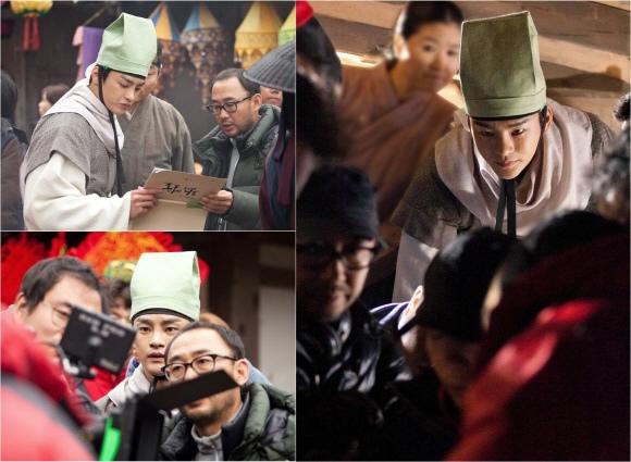 「王的面孔」徐仁國,公開拍攝現場照片..「火熱的」演技熱情