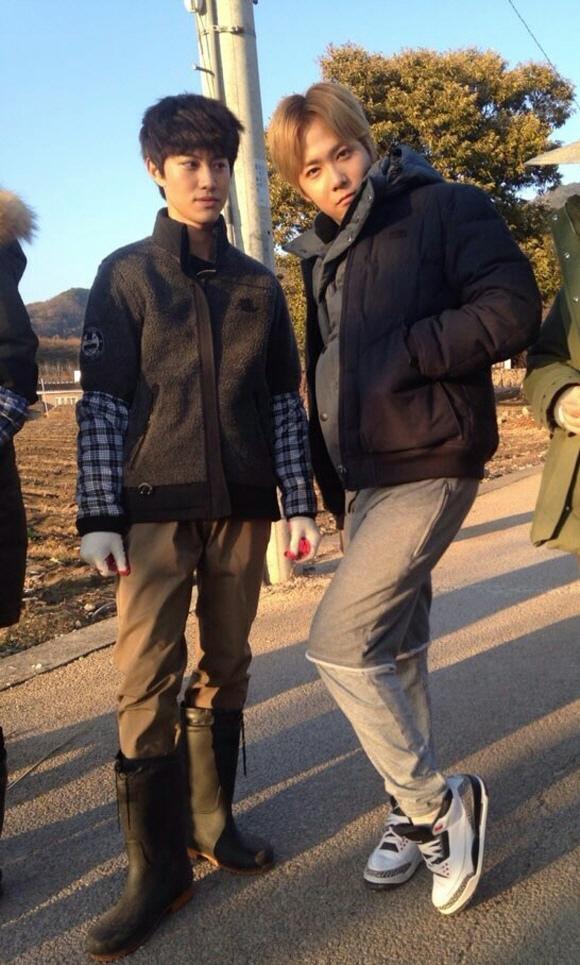 「現代農夫」李洪基-郭東延,農村裝扮 完美消化 「有型哦」