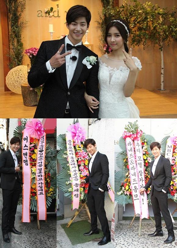 宋再臨-金素恩婚禮照公開 「我們已經結婚了」