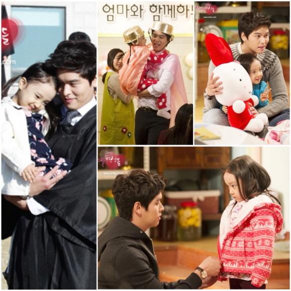 「薔薇色戀人們」李章宇,對著童星露出爸爸微笑