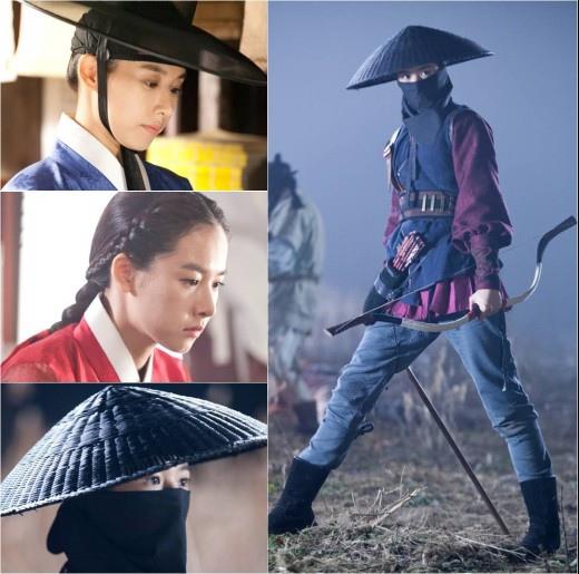 「王的面孔」趙允熙從女扮男裝、閨秀到射手大變身