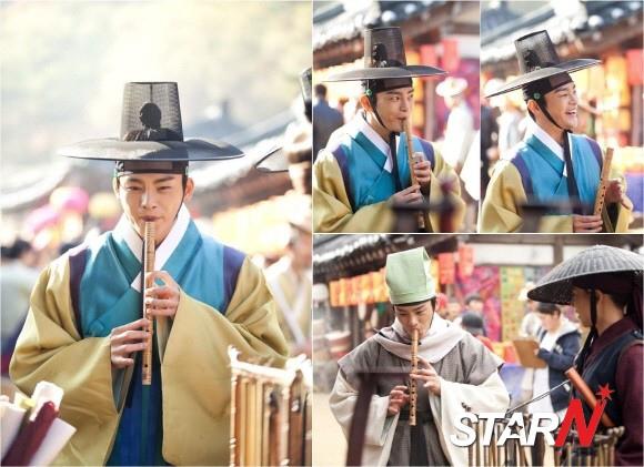 「王的面孔」徐仁國,笛子演奏三昧境..天真爛漫的微笑「引人矚目」