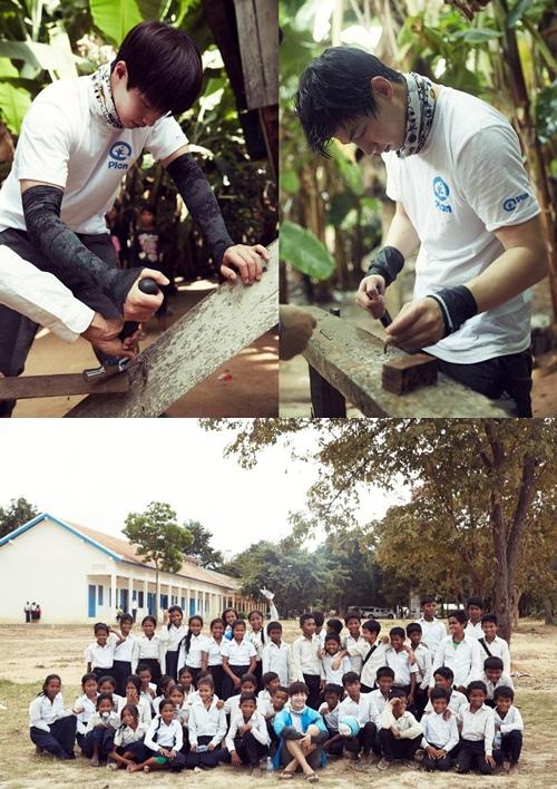 宋在臨心繫慈善親赴柬埔寨
