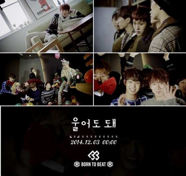 BTOB公開《可以哭》MV 可愛度爆棚