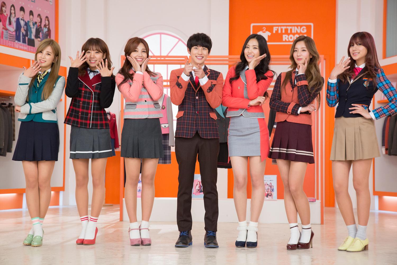林時完&A pink_School Looks_2014