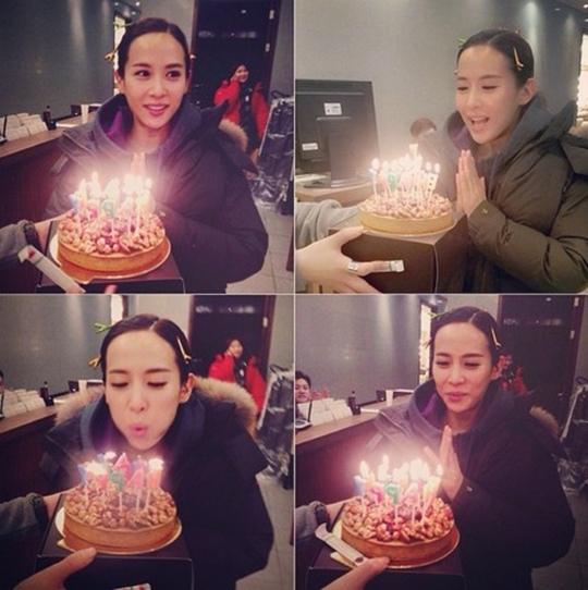 趙如晶迎來35歲生日 蛋糕前許願令人無法相信年紀的美貌邀人