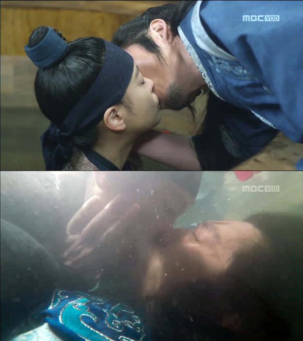 《閃耀或瘋狂》張赫吳漣序浪漫的浴桶之吻