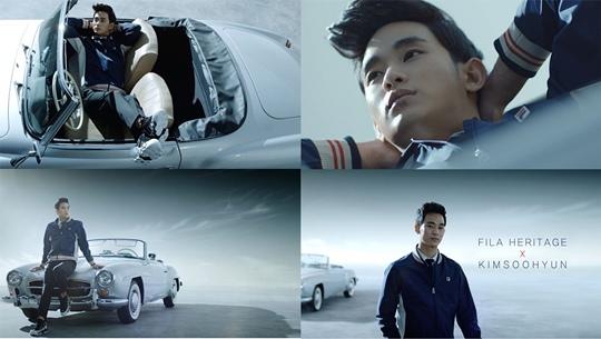 金秀賢新廣告出爐 躺老爺車仰望天空