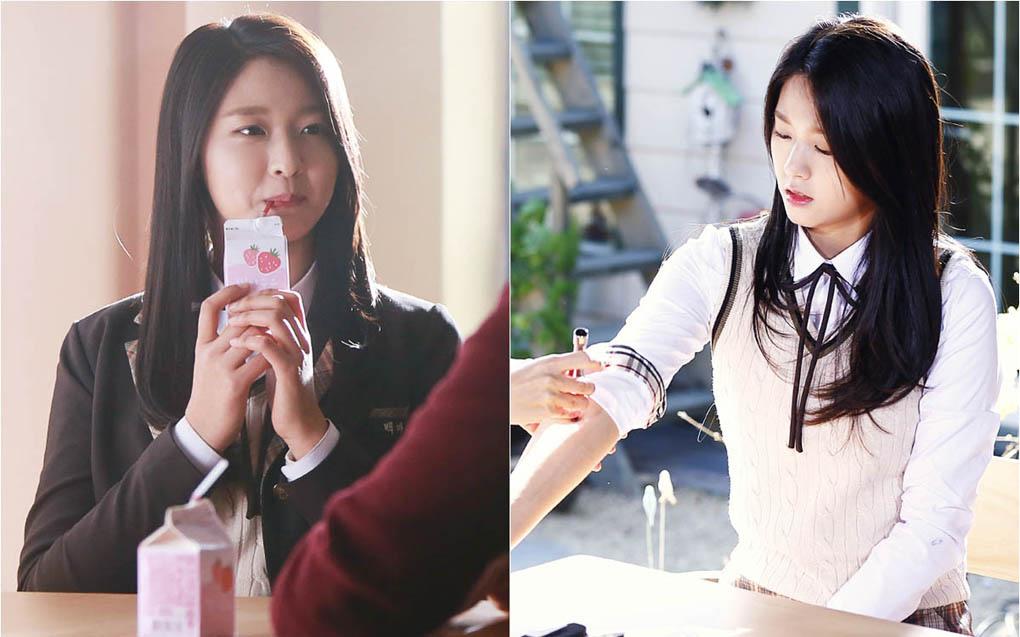 AOA雪賢加盟《Orange Marmalade》變玻璃心吸血鬼 _1