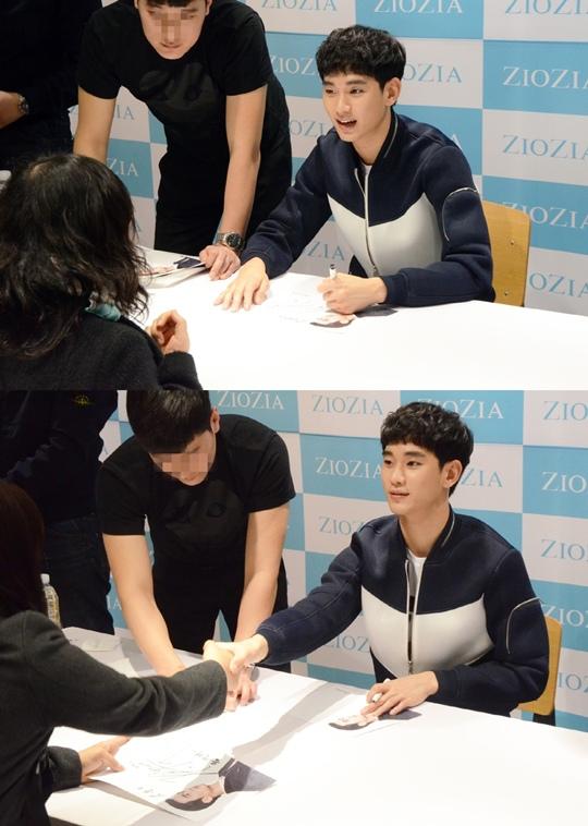 金秀賢,男裝品牌粉絲簽名會 盛況落幕..相關人士「不一樣的體貼 奪人眼球」