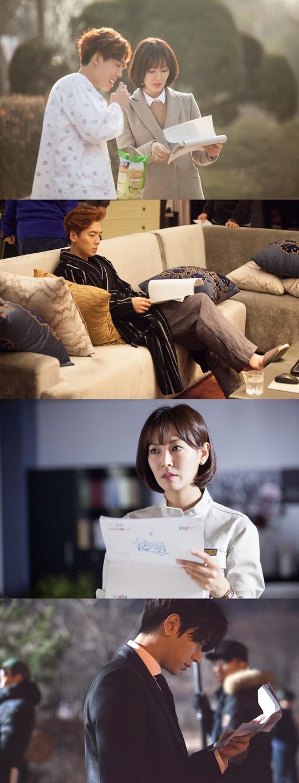 《為純情著迷》鄭京浩金素妍熱情飽滿投入拍攝