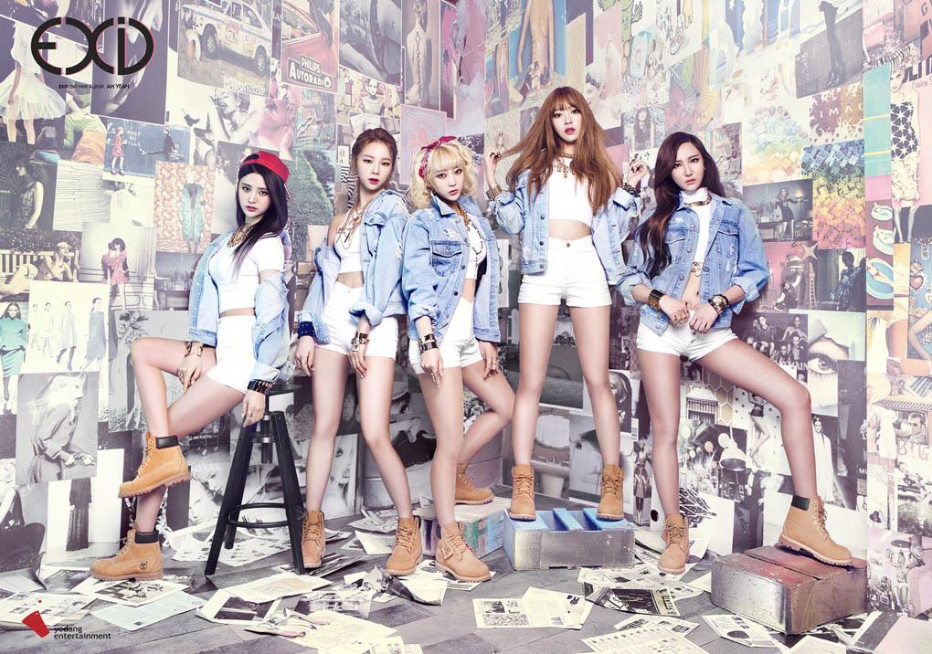 EXID新輯《Ah Yeah》人氣火爆 音樂榜成績喜人