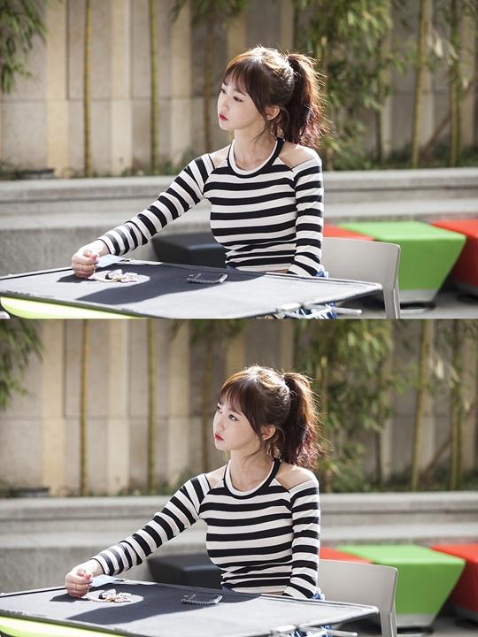 「看見味道的少女」吳楚姬拍攝現場閃耀美貌惹人注目