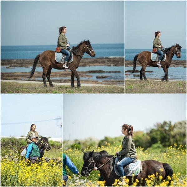 《心情好又暖》姜素拉首次騎馬不驚慌