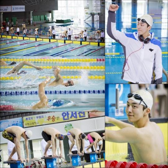 《學校》南柱赫一展游泳實力 完美身形吸睛