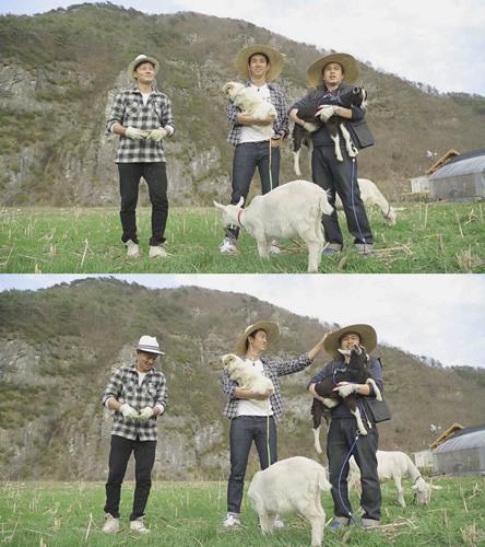 《三時三餐》公開照片 李瑞鎮玉澤演變農夫