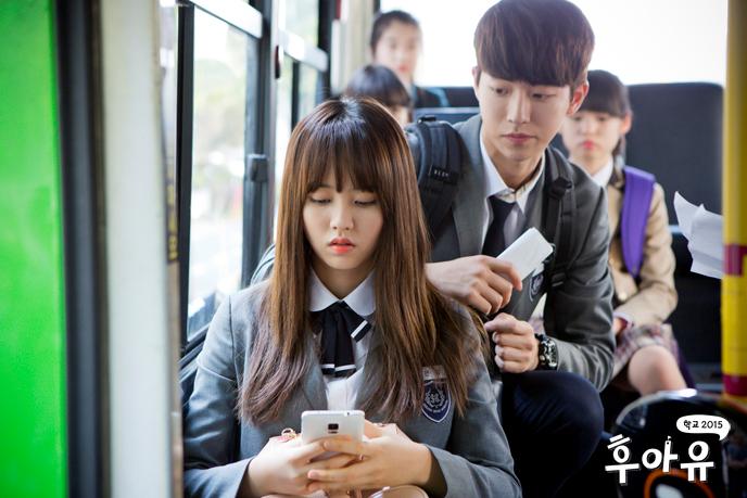 《學校2015》南柱赫「偷襲」金所炫 小浪漫超甜蜜_1