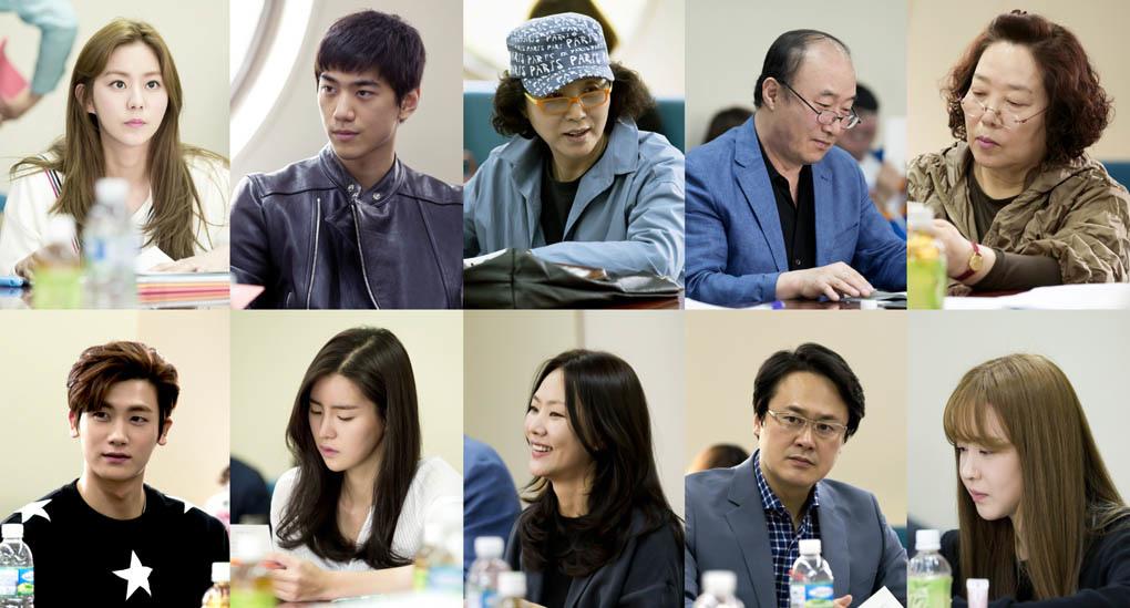 UEE、成俊、朴炯植等亮相新劇《上流社會》臺詞排練