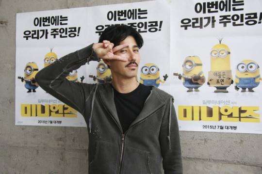 車勝元擔任《小小兵》韓文配音 首度挑戰動畫配音