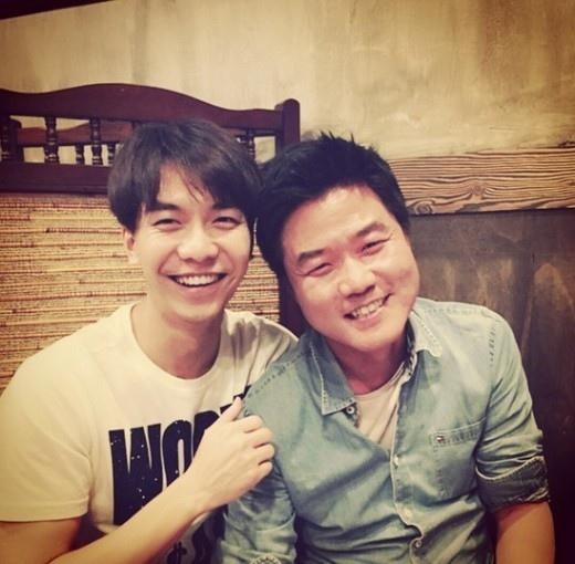 李昇基曬與羅永錫合照 笑容綻放親如兄弟