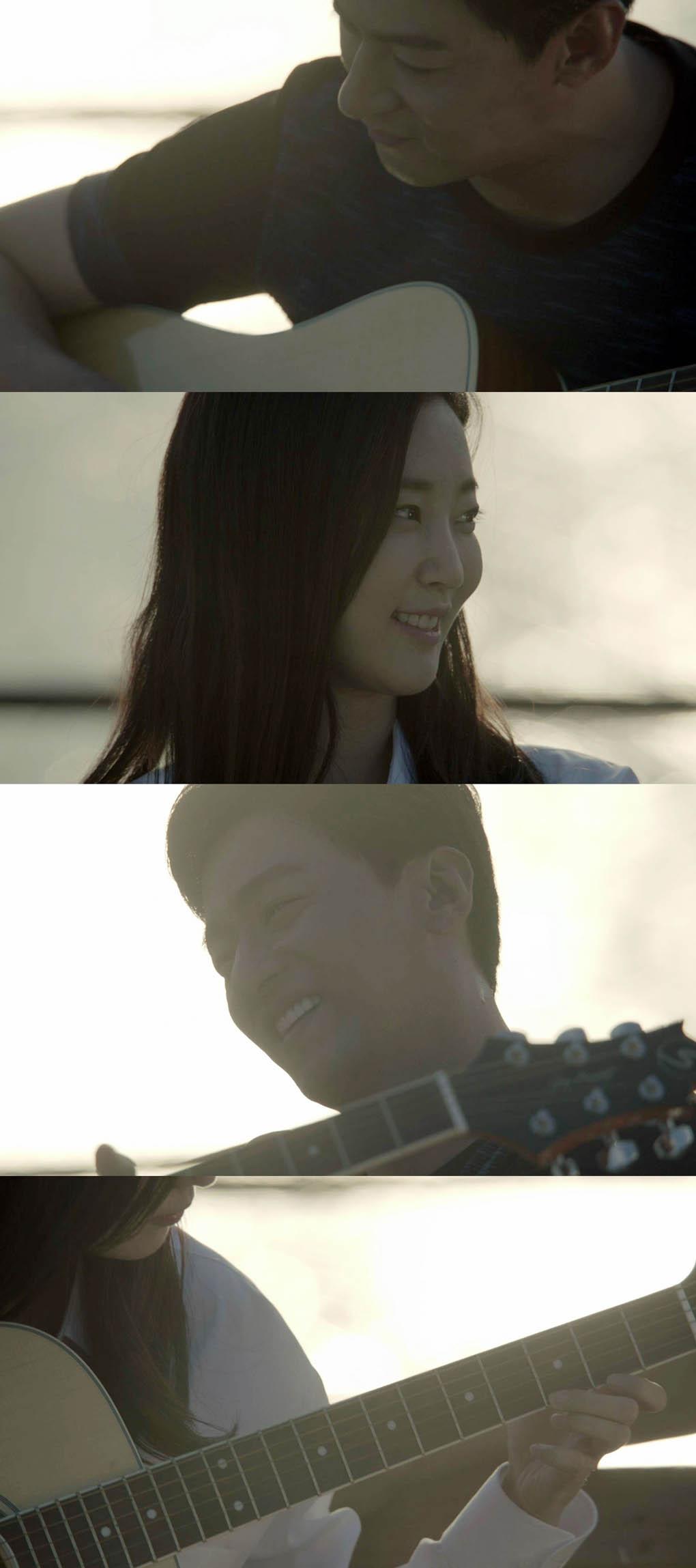 《親愛的恩東啊》朱鎮模金莎朗拍攝花絮 約會彈吉他