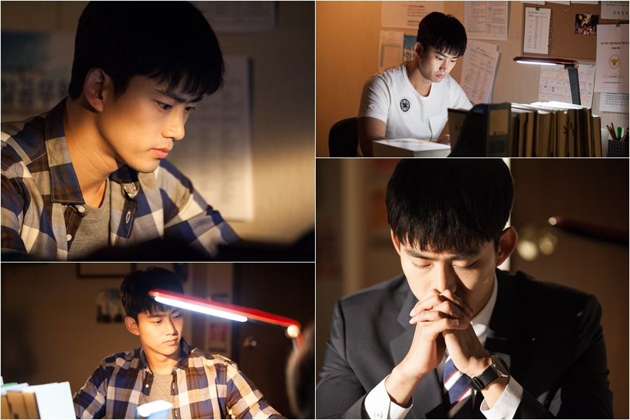 《Assembly》2PM玉澤演變身考生 熬夜苦讀