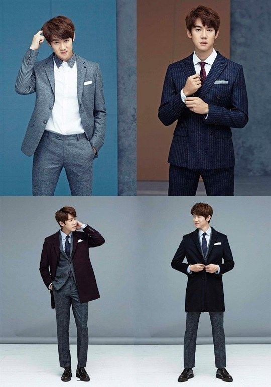 劉延錫西裝海報公開 更加完美帥氣的外貌與身材