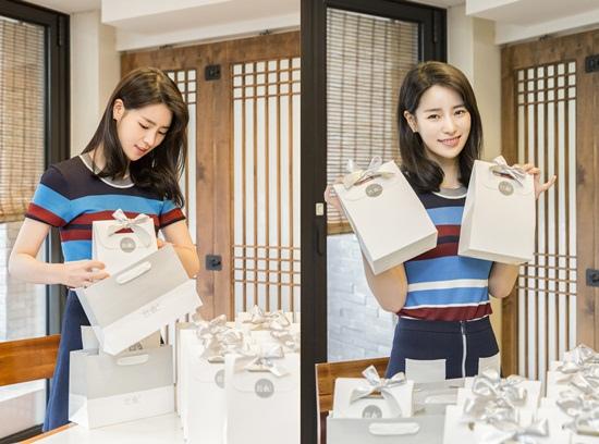 《上流社會》劇終在即 林智妍送禮物並附親筆信