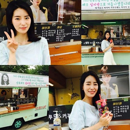 《上流社會》林智妍買單咖啡車 酷暑送清涼