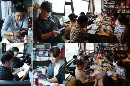 《深夜食堂》公開劇本會現場照 南太鉉新劇受關注