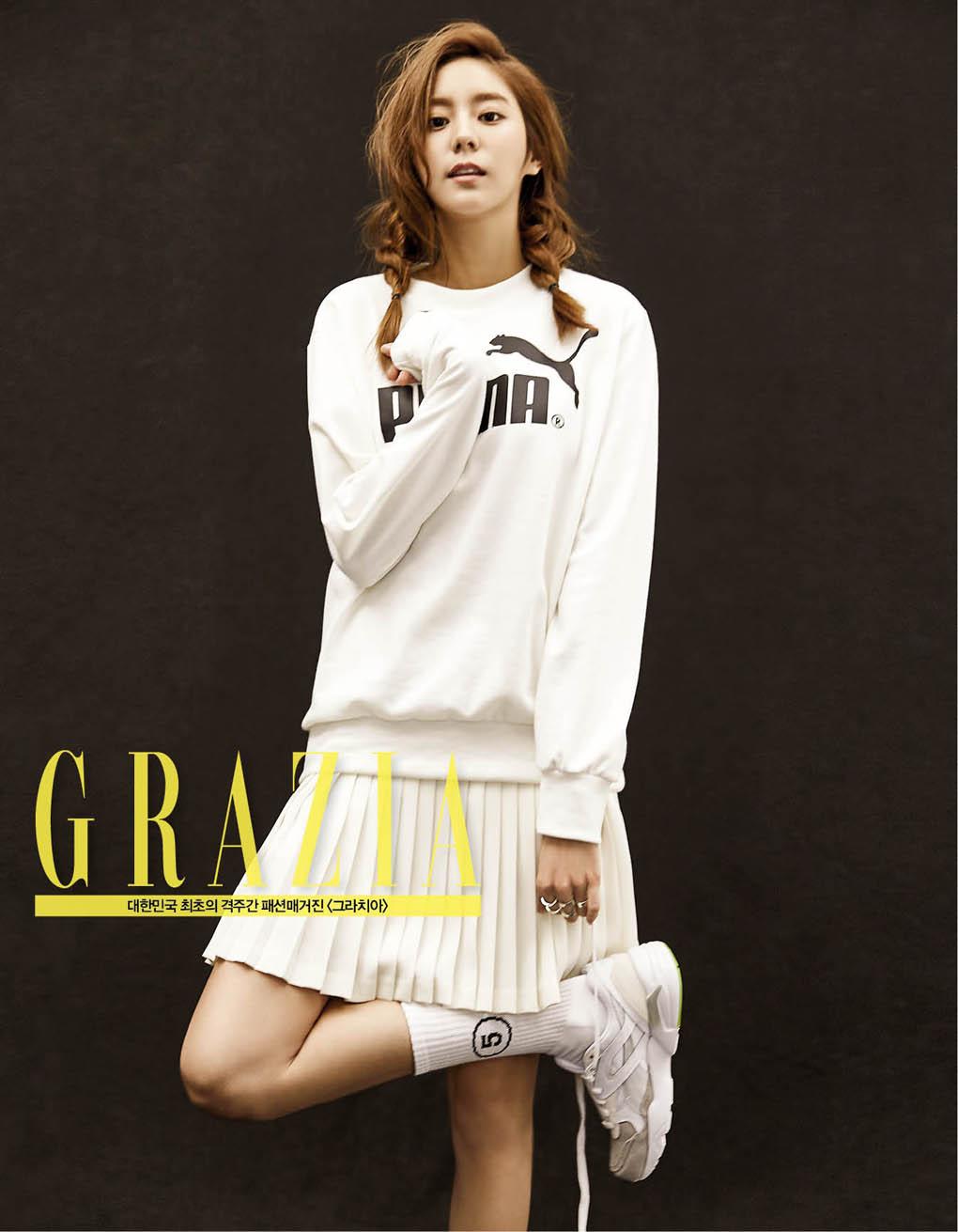 After School成員UEE_GRAZIA_201508_1