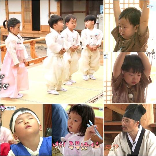 《超人回來了》大韓民國萬歲秋小愛學習韓國傳統禮儀