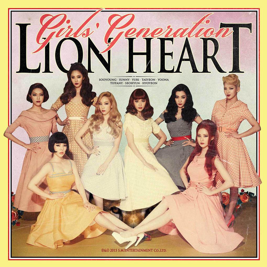 少女時代新曲《Lion Heart》橫掃榜單 MV復古清新 _1