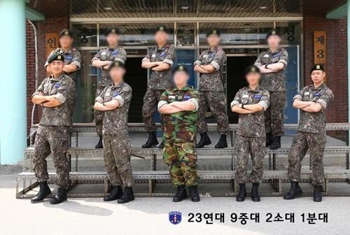 JYJ朴有天軍營訓練所照片出爐 著迷彩威風凜凜