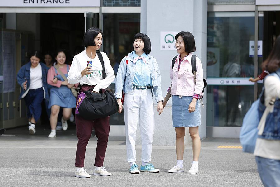 《請回答1988》Girls Day惠利再現80年代女高中生形象 _1