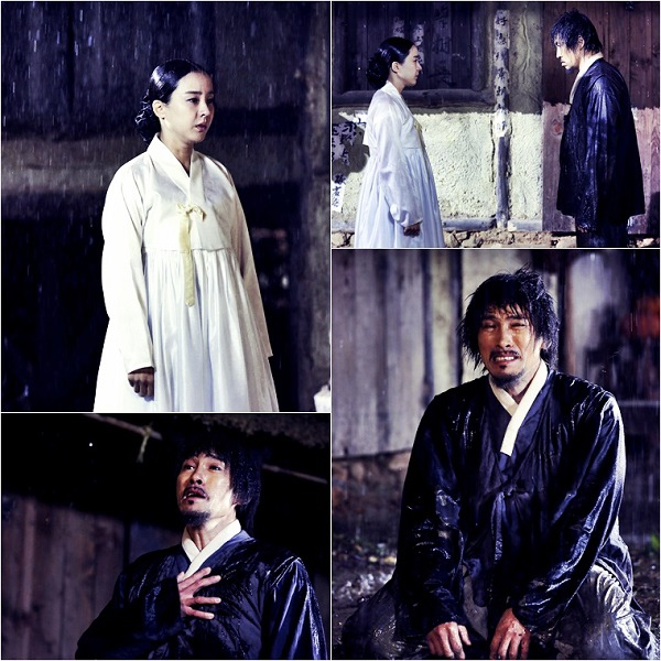 《客主》劉五性朴恩惠冒雨拍攝 昔日戀人雨中相遇