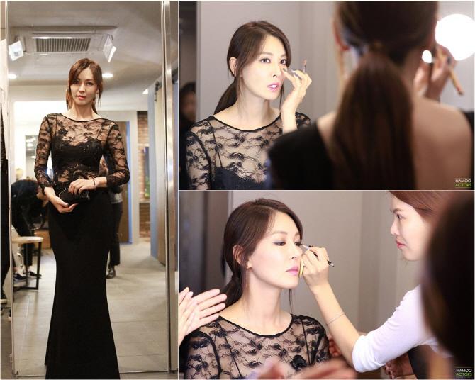 金素妍活動幕後照公開 身材高挑婀娜多姿