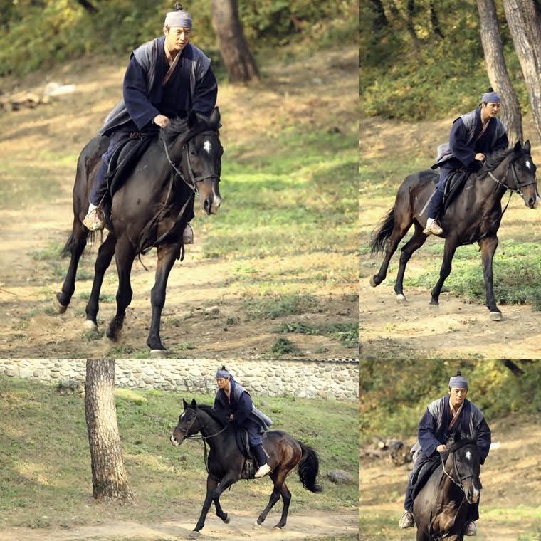 《客主》張赫帥氣乘馬奔馳 畫面如寫真般吸睛