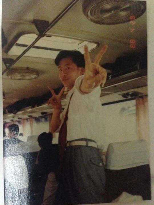 《請回答1988》德善老公金柱赫 1988年拍攝真實照片公開
