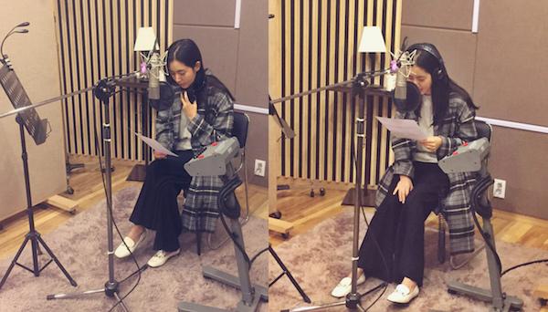 韓彩雅走公開錄音照 素顏錄新歌