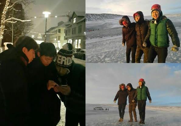 《花樣青春》首發冰島旅遊照 曹政奭鄭宇等「雪國探險」
