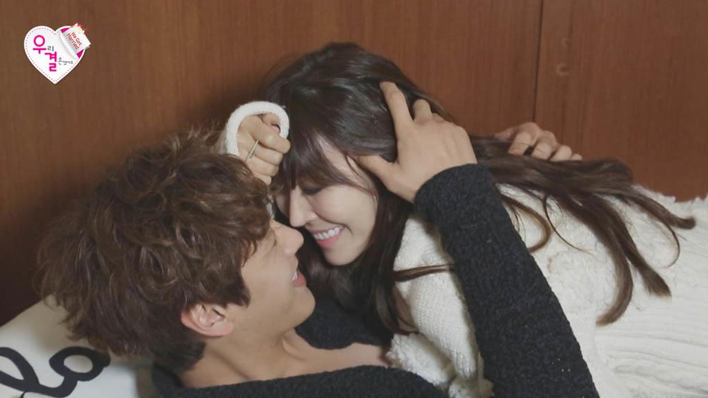 金素妍郭時暘親昵出演《我們結婚了4》 _1