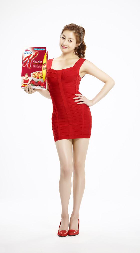 姜素拉健康形象受肯定 再度成瘦身食品代言人