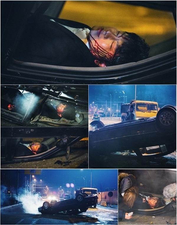 《回來吧大叔》金秀路車禍現場曝光 為求真實連拍48小時