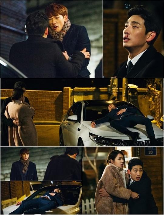 《回來吧大叔》劇照 Rain為李珉廷與尹博大打出手